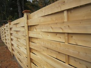Woven Wooden Horse Fence Ideas
